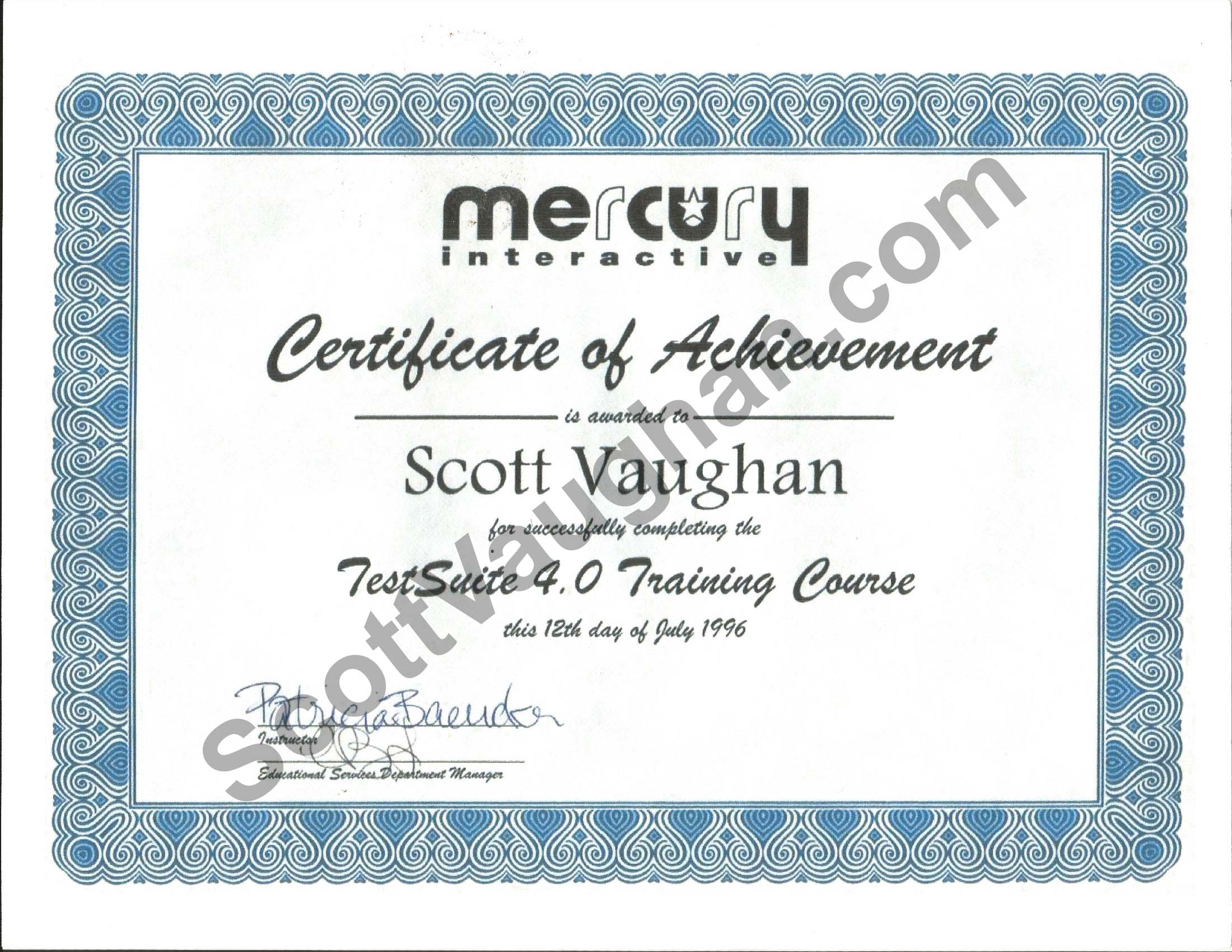 ScottVaughan.com - Software Solutions: Resume