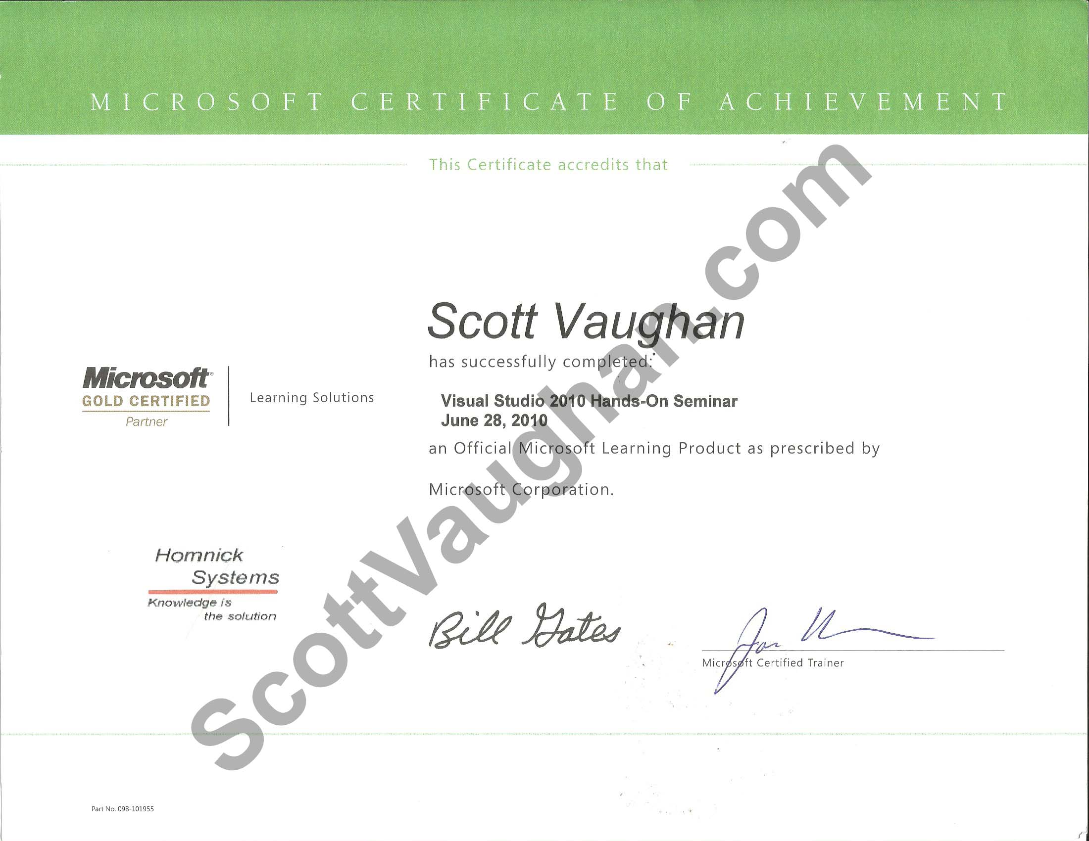 Scottvaughan Software Solutions Resume